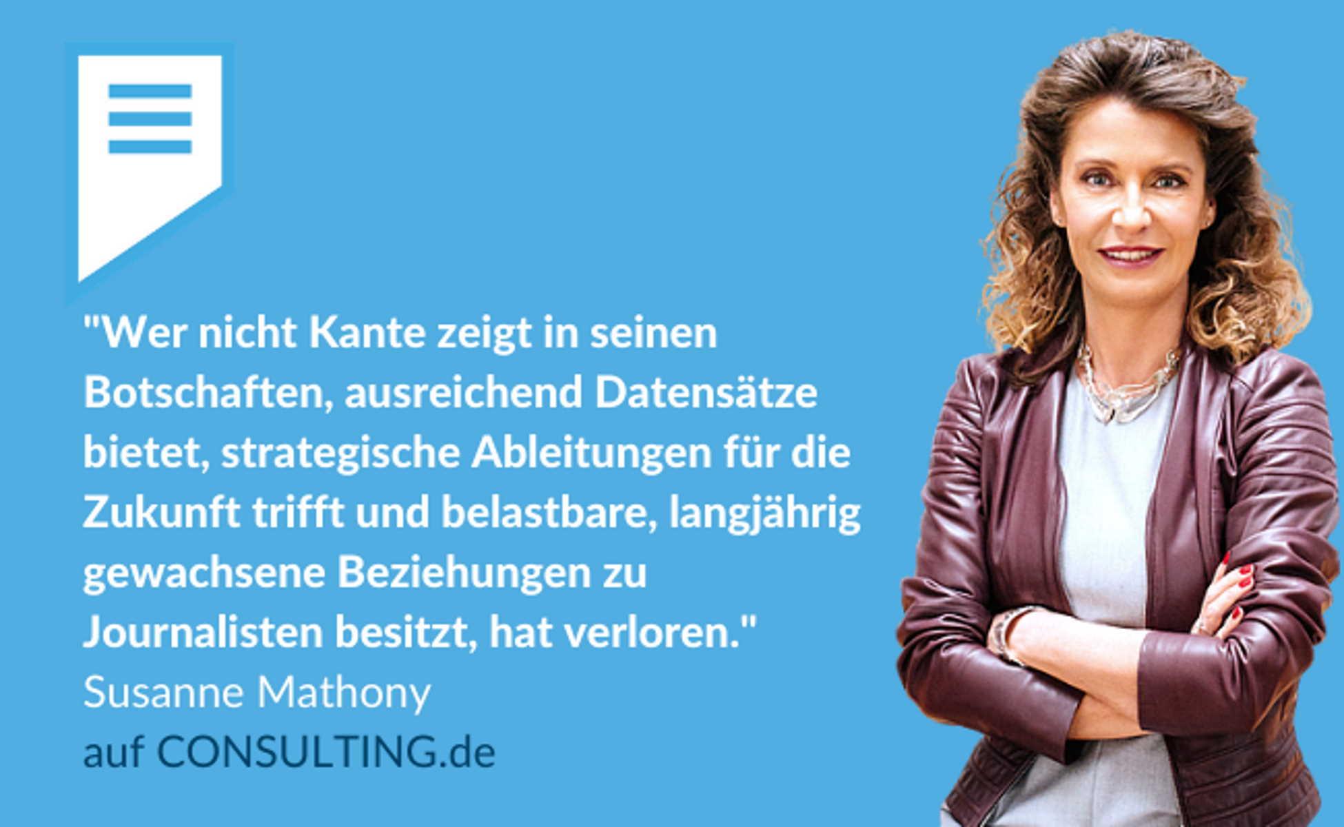 Susanne Mathony - Tought Leadership