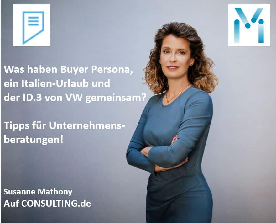 Susanne Mathony - Buyer Persona