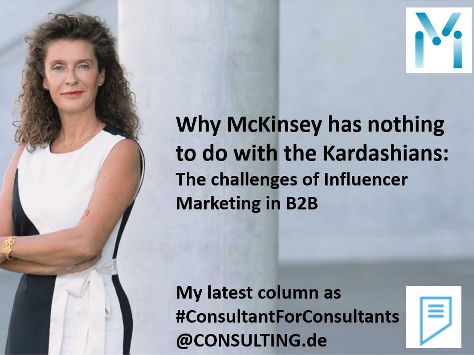 CEO Susanne Mathony von Mathony Brand Strategists zu Influencer Marketing im B2B Marketing