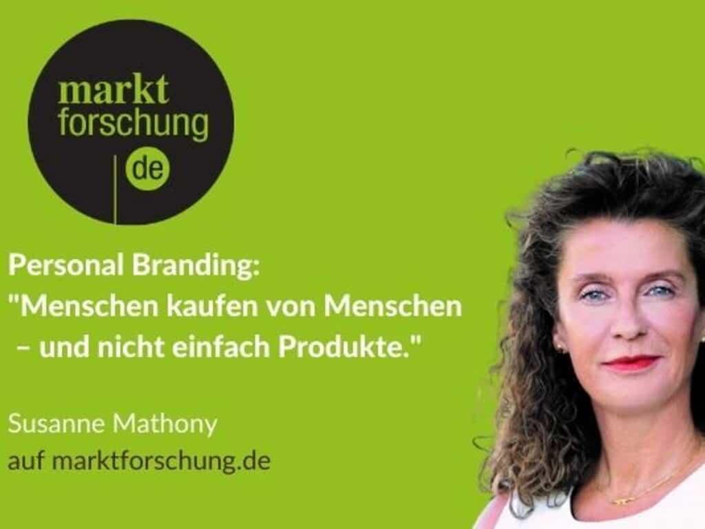 Susanne Mathony - Personal Branding