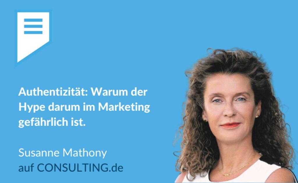 Susanne Mathony - Authentische CEO-Postionierung