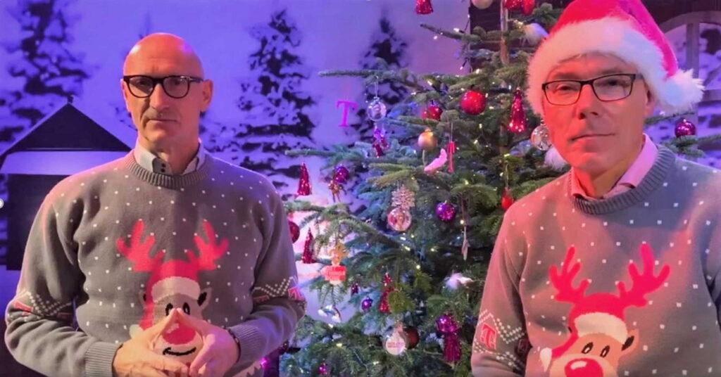 CEO ugly Chrismas-sweater