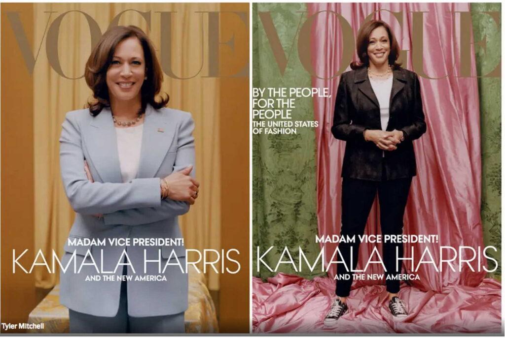 Kamal Harris - titelbild Vogue