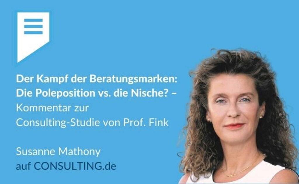 Susanne Mathony - Beratungsmarken positionieren