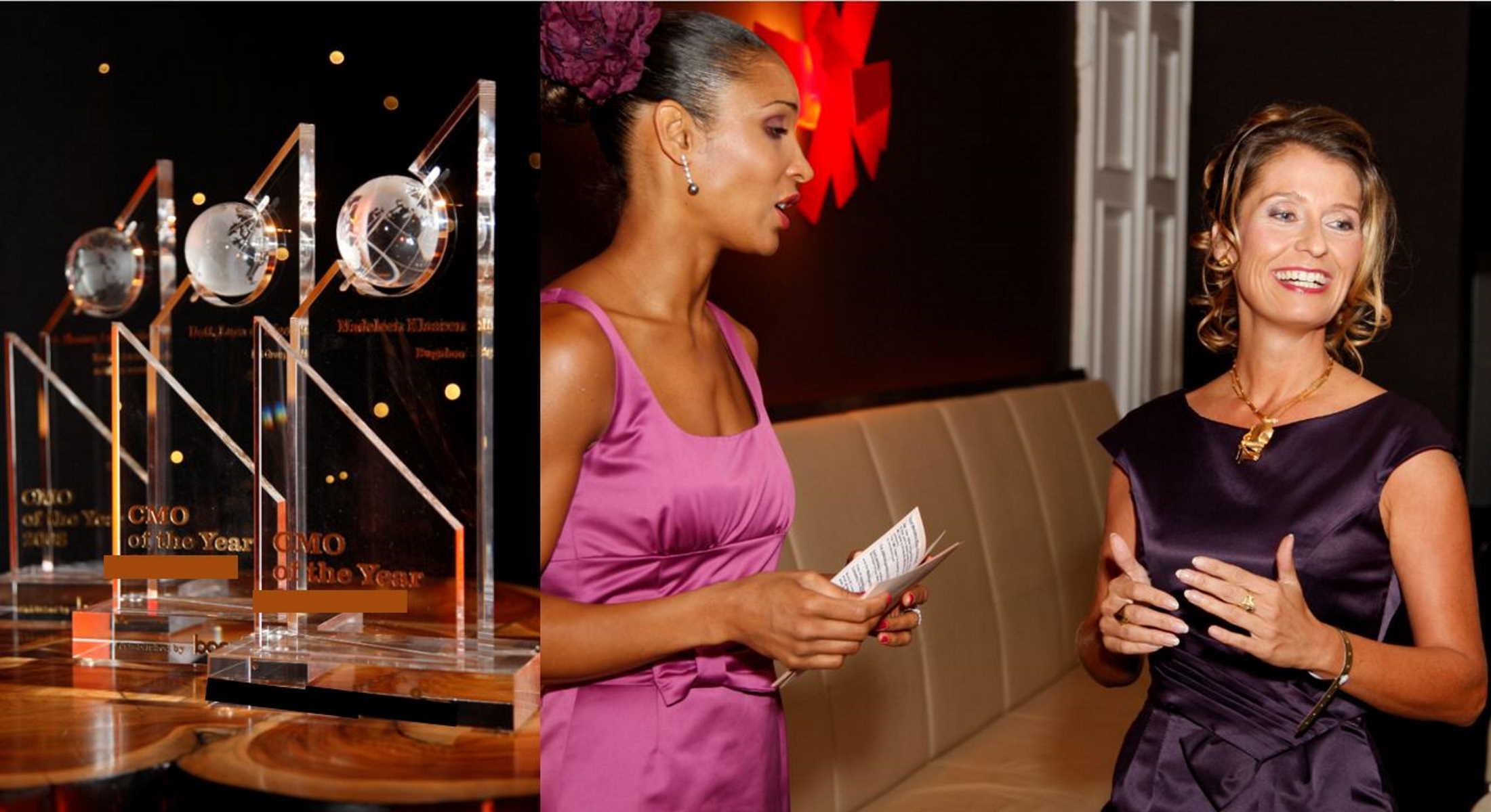 Preisverleihung mit Susanne Mathony und Anna Mandeng für Booz & Company