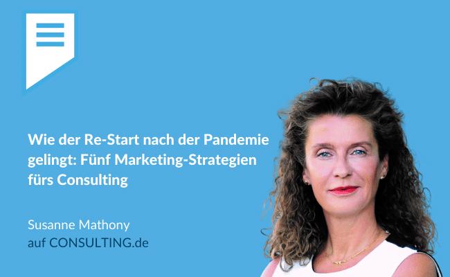 #BeraterBeratin-Kolumne von Susanne Mathonyauf Consulting.de