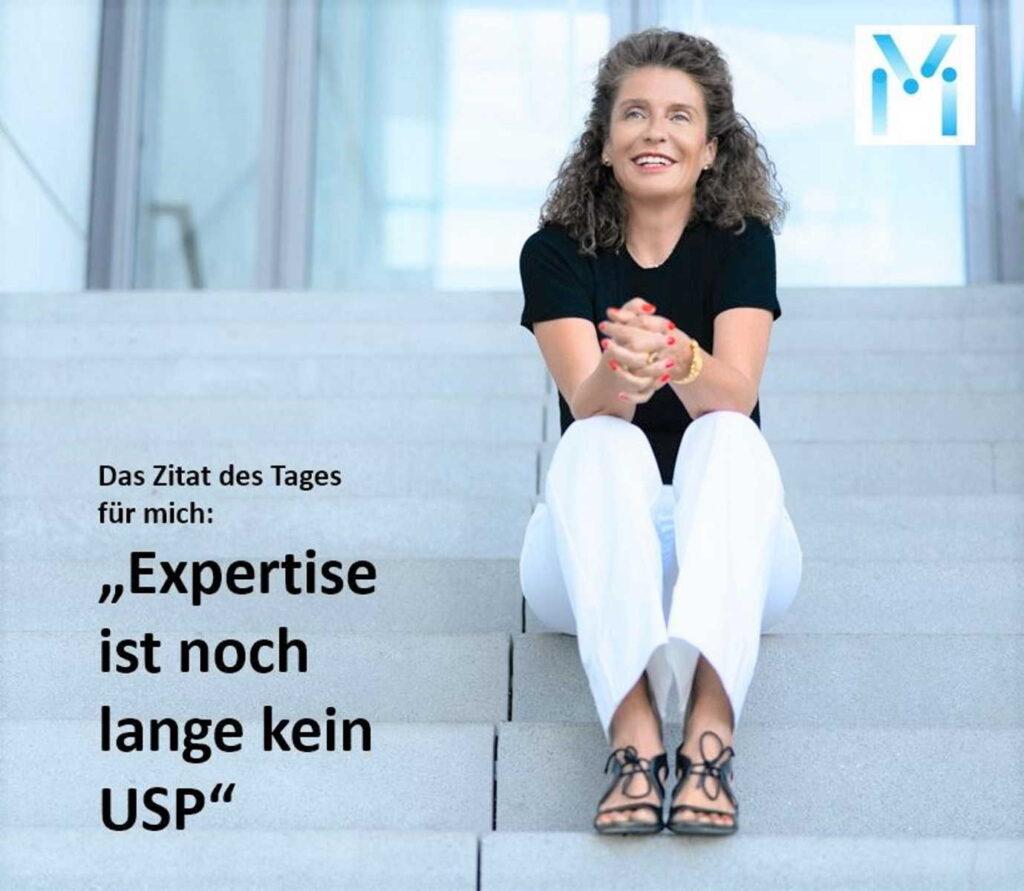 Susanne Mathony - Expertise ist noch lange kein USP