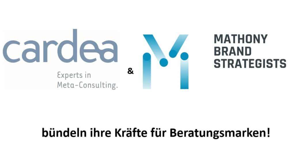 Cardea AG und Mathony Brand Strategists (MBS) bündeln ihre Kräfte